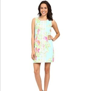 00 Lilly Pulitzer Cathy - Pool Blue Pink Lemonade